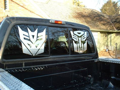 Truck Window Stickers