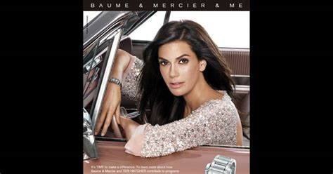 Teri Hatcher And Ashton Kutcher For Baume Mercier by Teri Hatcher Et Ashton Kutcher Se Mettent 224 L Heure Du