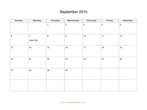 printable weekly calendar sept 2015 september 2015 calendar blank printable calendar