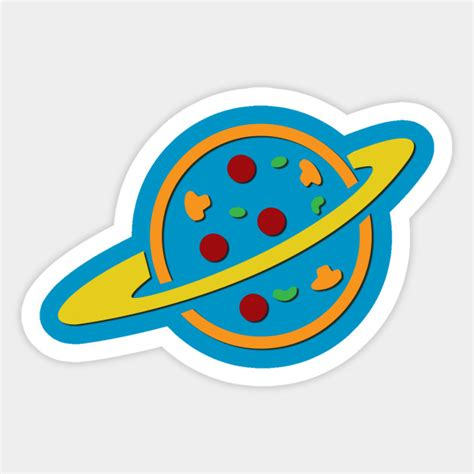 Toy Story Wall Stickers pizza planet pizza planet sticker teepublic