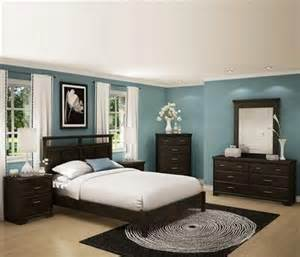 Color Bedroom Set A Brown Bedroom Furniture Set With An Finish