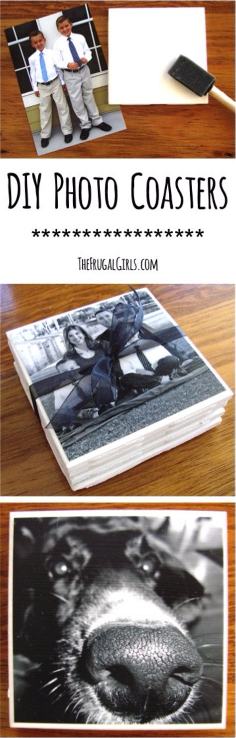 50 easy crafts to make and sell photo coasters homemade