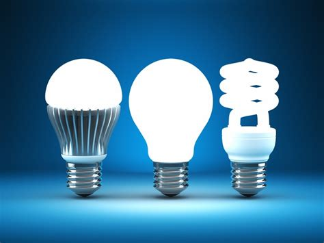 different types of led lights comparing different types of light bulbs leds vs cfls vs