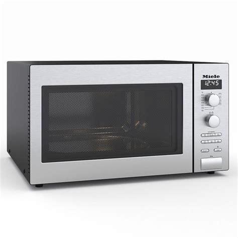 miele microwave miele microwave 3d model max fbx cgtrader
