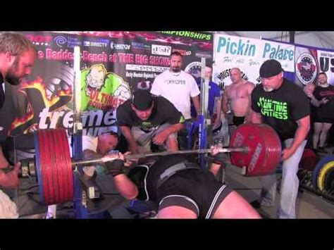 the big show bench press baddest bench the big show wy 2012 full tv show youtube