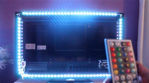 beleuchtung tv rgb tv beleuchtung