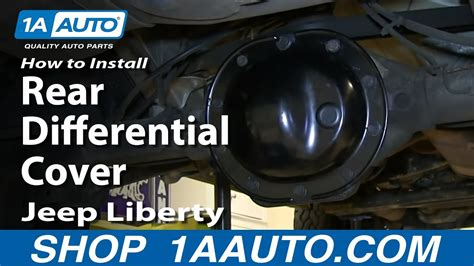install replace rear differential cover