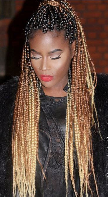 how to do ombre box braids black to brown to blonde ombre box braids box braids