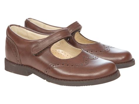 brown school shoes panache school shoes maxine velcro brown leather