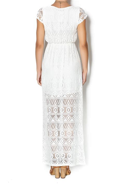 Pm Elegan Mon And Kid by 12pm By Mon Ami White Lace Dress From Oklahoma By District