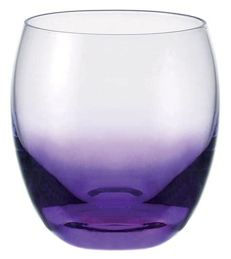 bicchieri viola scopri bicchiere da acqua viola di leonardo made