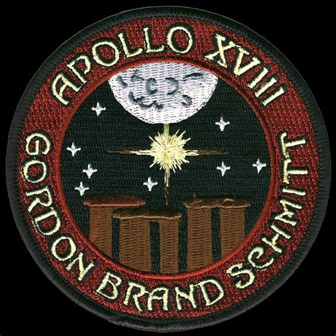 Patchwork Patches - apollo 18 mission patch page 2 pics about space