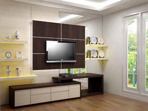 Rak Tv Dinding Tempel Minimalis 60 model rak tv minimalis desainrumahnya