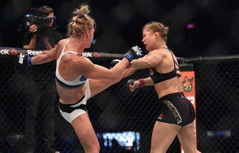 ronda rousey clothes malfunction ronda rousey taken to hospital following ko loss to holly