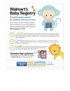 Walmart Gift Registry Baby Shower by Walmart Targets New With Baby Registry