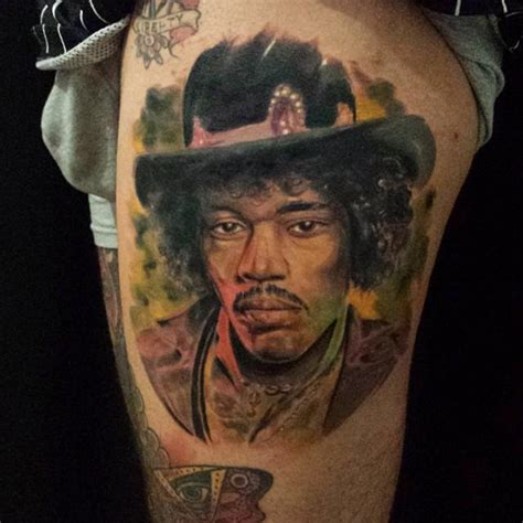 jimi hendrix tattoo jimi by marco biondi tattoonow