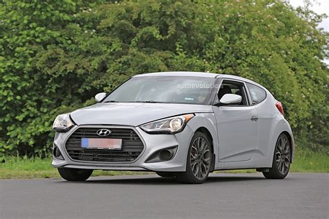 veloster hyundai 2018 2018 hyundai veloster spied could get independent rear