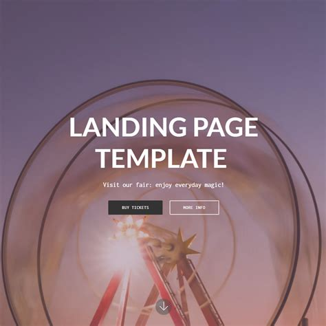 Free Bootstrap 4 Template 2018 Bootstrap 4 Landing Page Template