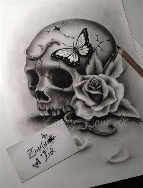 tattoo design vire beauty and decay skull tattoo design by zindy s d