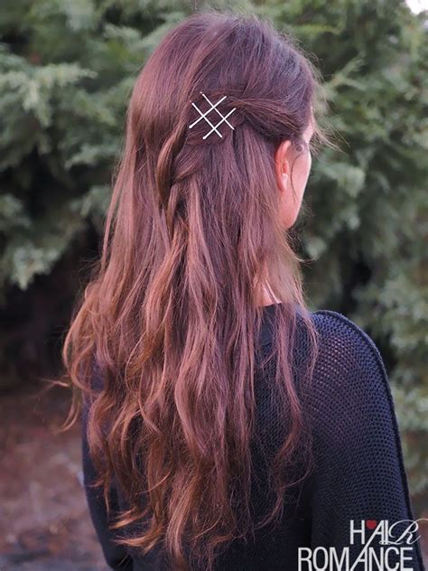 back to school hairstyles without bobby pins best 25 bobby pin hairstyles ideas on pinterest