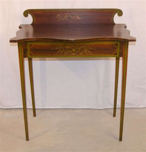 painted federal period maine table from asgoodasold on