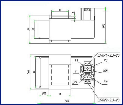 znen 150cc gy6 ignition wiring diagram gy6 150cc
