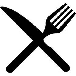 Kitchen Design Tool Free fork and knife in cross icons free download