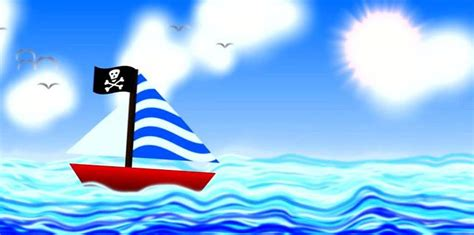 boat cartoon scene a simple cartoon boat scene with trapcode on vimeo