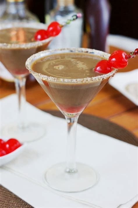 Chocolate Covered Cherry Martinis The Kitchen Is My