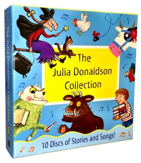 The Grufallos Child By Donaldson donaldson collection 10 audio cd books set stories