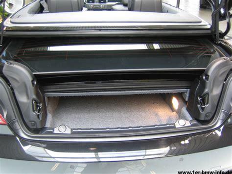 Bmw 1er 2008 Adac by Bmw 3er Cabrio Kofferraum Mae