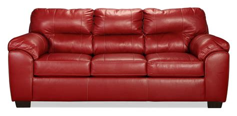 red sleeper sofa rigley queen sleeper sofa red levin furniture