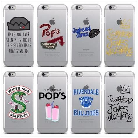 hot tv riverdale soft clear tpu phone case  iphone