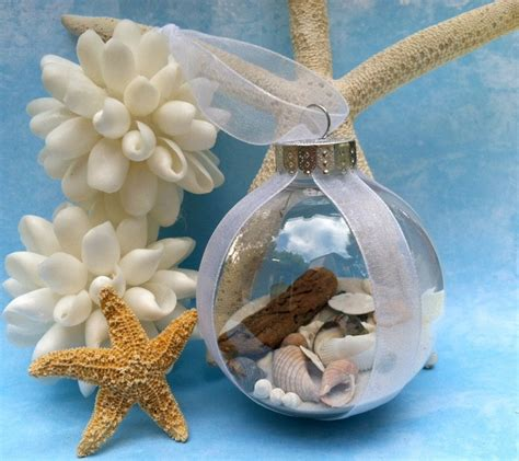 seashell christmas ball ornament would totally love to