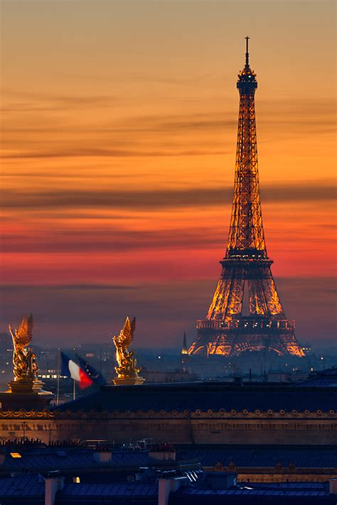 whatever floats your boat in french eiffel tower sunset in paris france share your