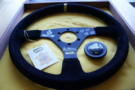 Lancer Steering Wheel For Sale Fs Omp Ralliart Tommi Makinen Limited World Rally