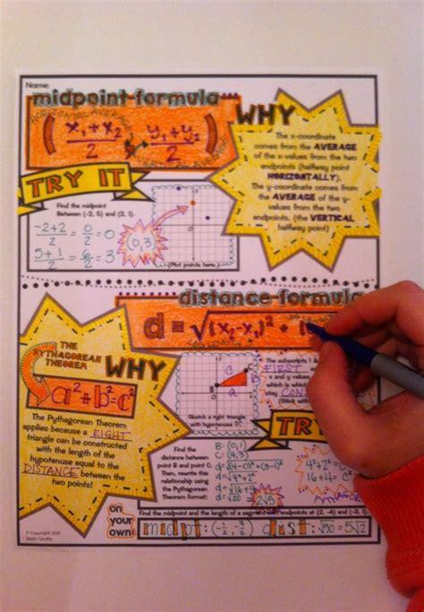 doodle maths sign up midpoint formula distance formula doodle notes student