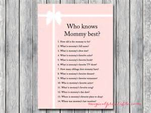 Printable Mad Libs Tiffany Pink Baby Shower Games Magical Printable