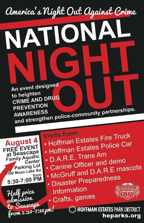 national night out flyers sles pictures to pin on