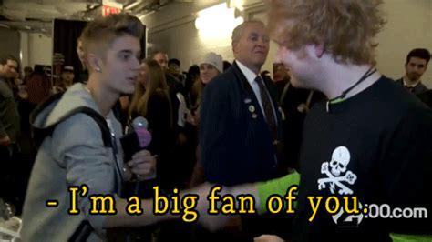 Ed Sheeran Perfect Justin Bieber | o por dioooos via tumblr animated gif 919628 by