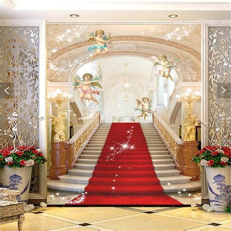 3d Murals 3d murals living room entrance mural wallpaper wedding