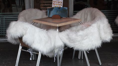 Fluffy Armchair by The Beaten Track In Madrid Aussie In