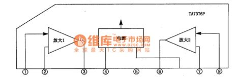 integrated circuit that keeps track of the current time in a pc ta7376p dual track power lification integrated circuit lifier circuits audio lifier