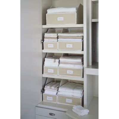 Linen Closet Organization Systems Kangaroom Storage Giveaway The Stuff Guide