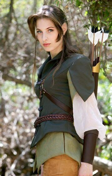 female elf white hair cosplay elf ranger want to look like cosplay pinterest the