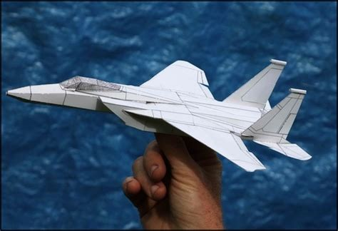 How To Make F15 Paper Airplane - f 15 fighter jet paper airplane www pixshark