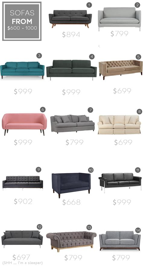 mid century modern sofas 1000 decor by design