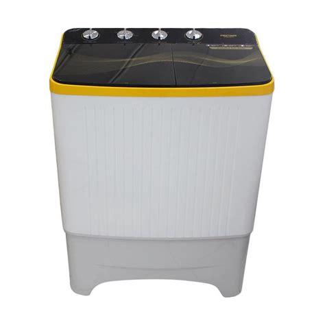 jual polytron pwm8070 mesin cuci 2 tabung 8 kg