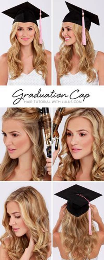 quick and easy hairstyles for graduation 15 simple but cute graduation hairstyles to wear under