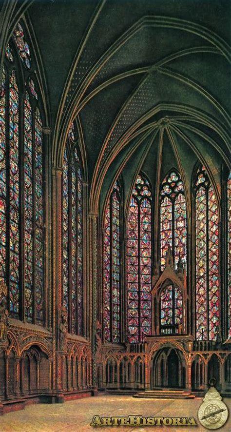 sainte chapelle paris interior de la planta superior